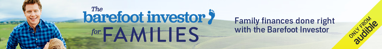 Barefoot Investor for Families Audiobook