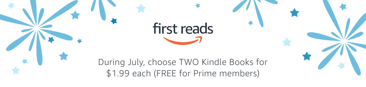 Choose TWO Kindle books for $1.99 each (FREE for Prime members)