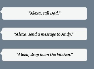 Alexa, call Mom