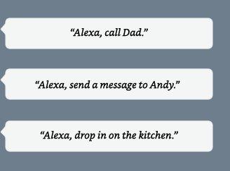 Alexa, call Mom