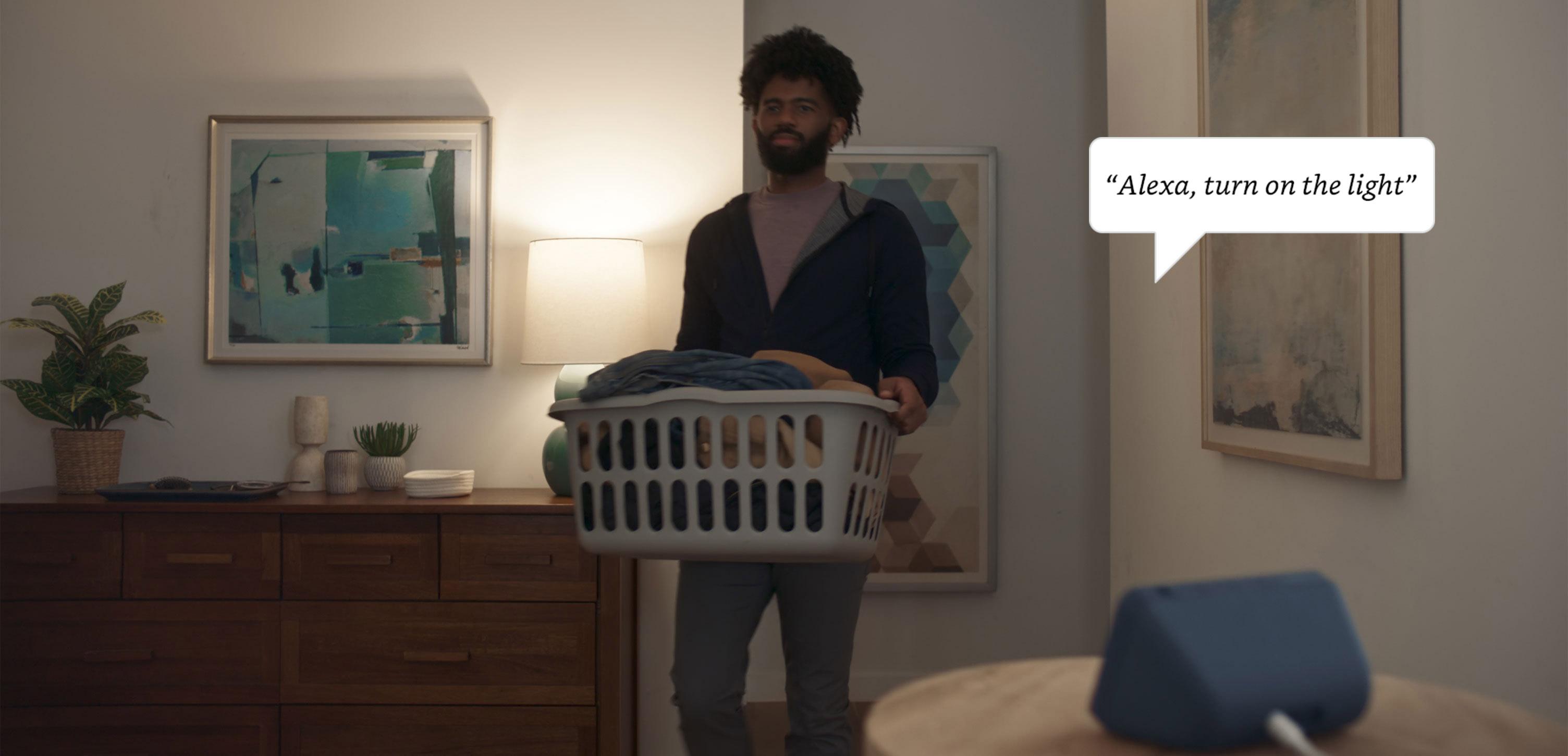 """""""Alexa, turn on the light"""""""