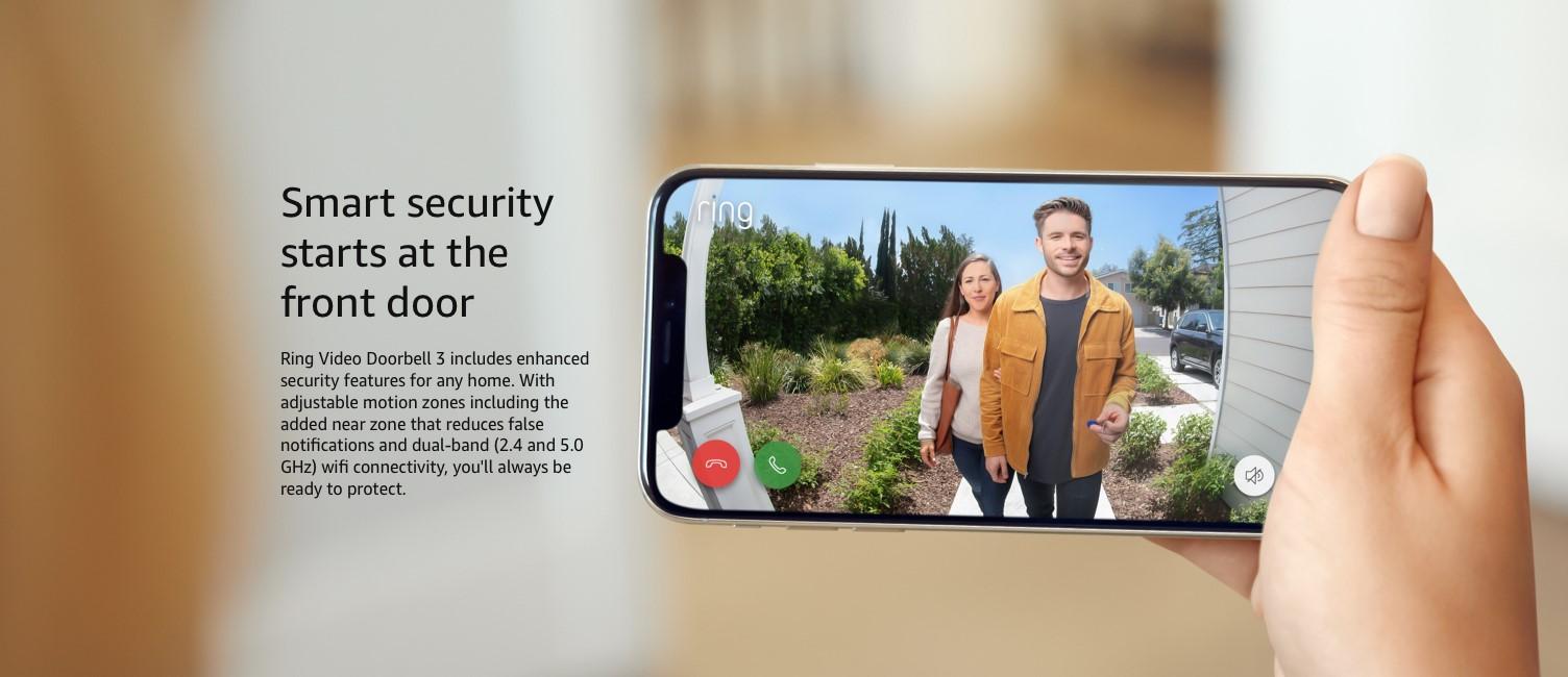 Smart security starts at the front door