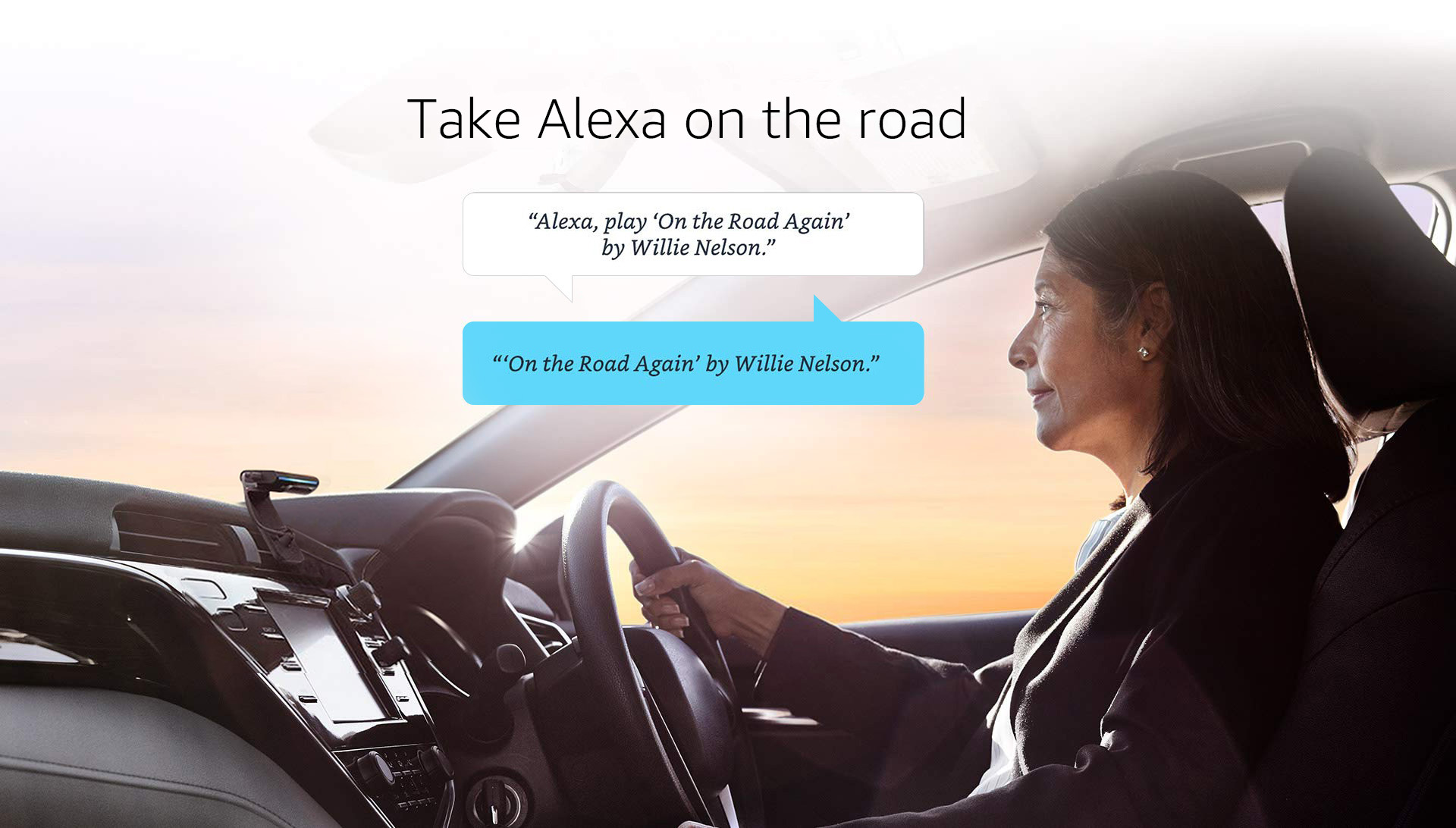 Take Alexa on the road