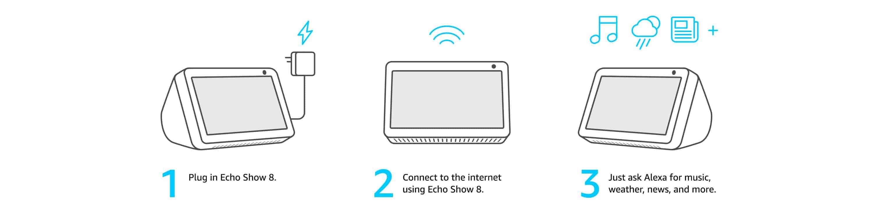 Echo Show 8 Setup