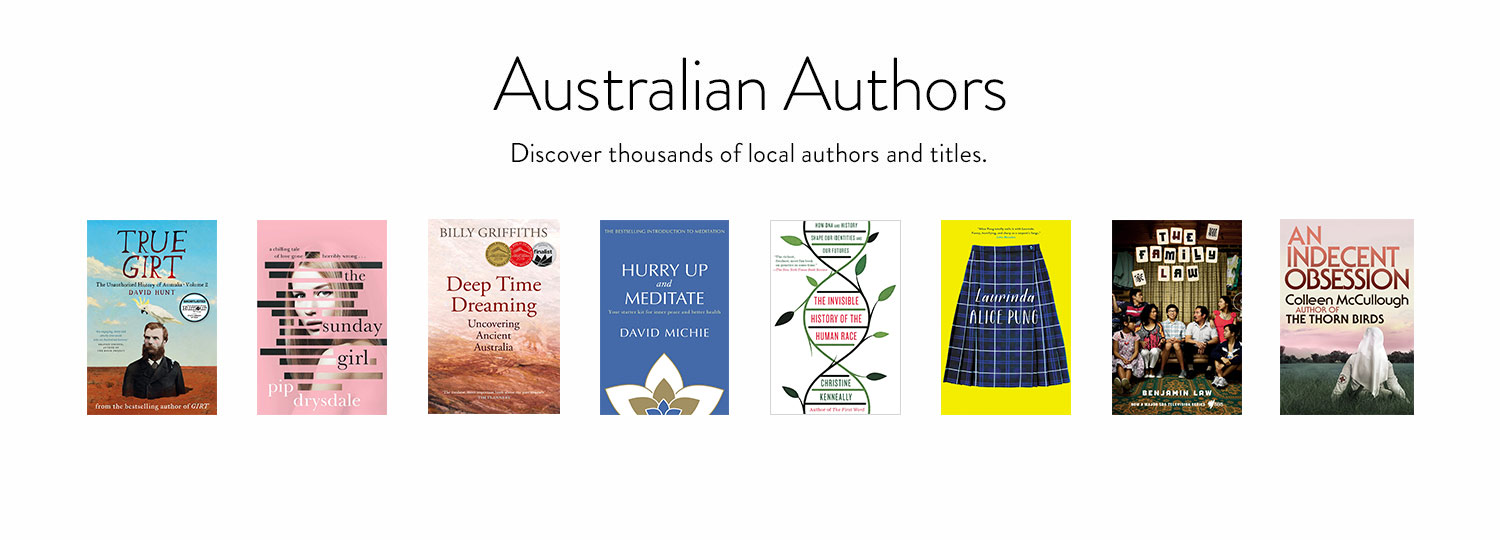Kindle Unlimited - Australian Authors: Discover thousands of local authors and titles.
