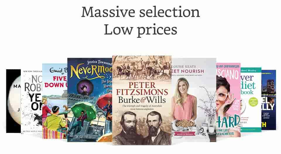 Massive Selection - Low Pricing