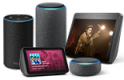 Echo Smart speaker with Alexa - Ask Alexa to play music, answer questions, find recipes, read the news, check the weather, set alarms and control compatible smart home devices.