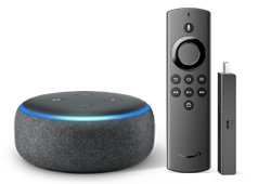Fire TV Stick Lite + Echo Dot (3rd Gen) for $89