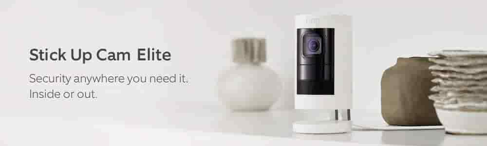 Stick Up Cam Elite. Security Anywhere you need it. Inside or out.