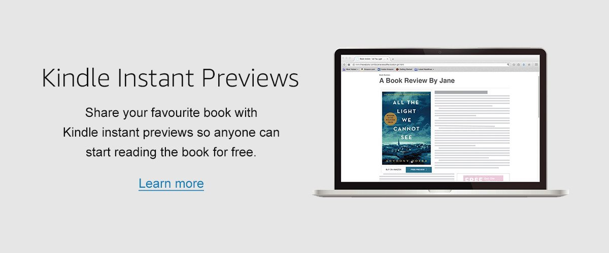 kindle instant previews