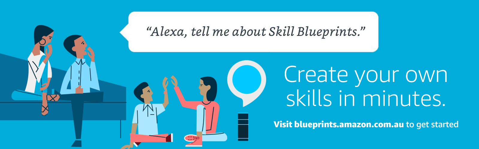 """Alexa, what are blueprint skills?"""