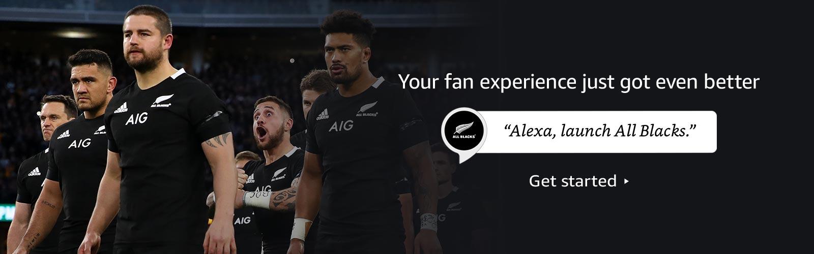 Alexa, launch All Blacks