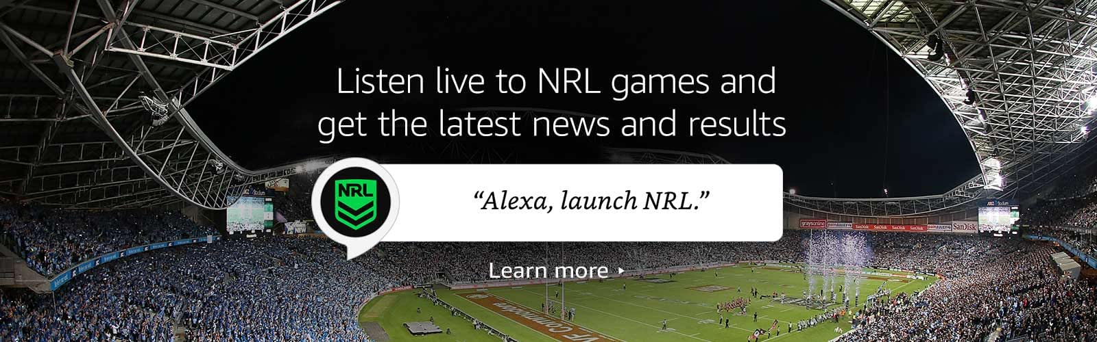 """Alexa, launch NRL"""