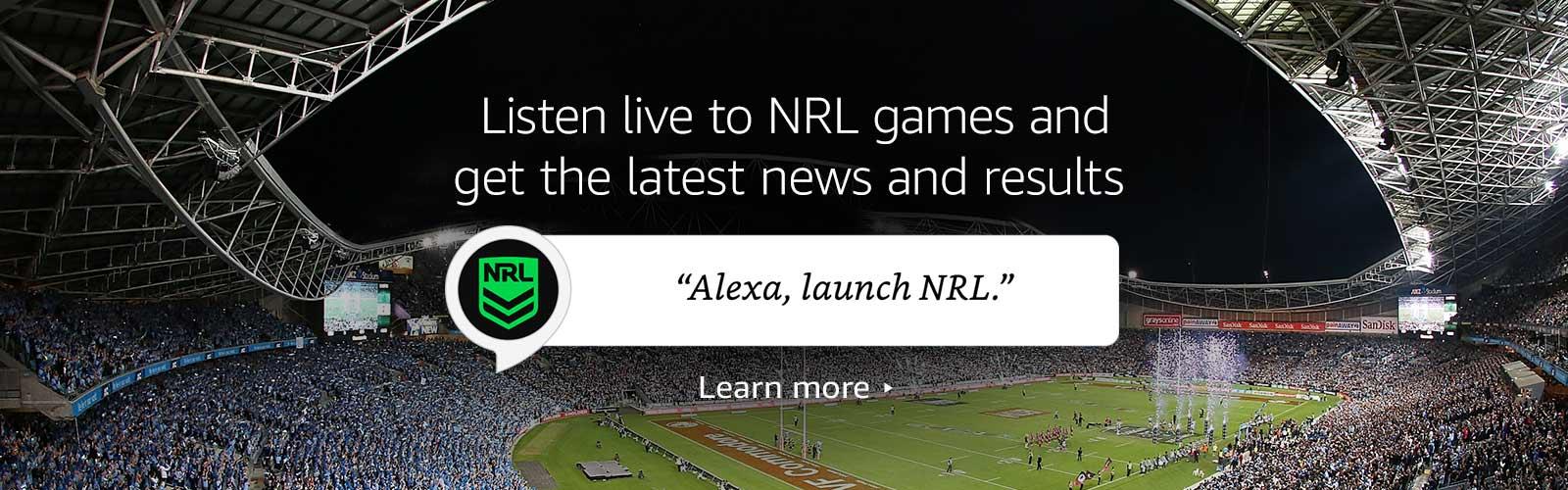 """""""Alexa, open NRL"""""""