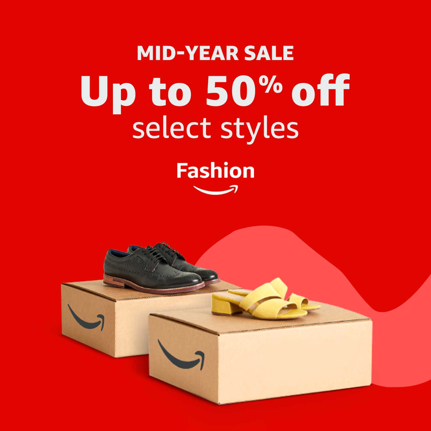Shop the Clothing, Shoes & Accessories mid-year sale. Discount included in prices displayed.