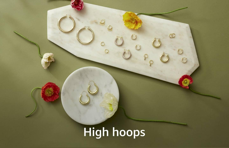 Shop hoop earrings