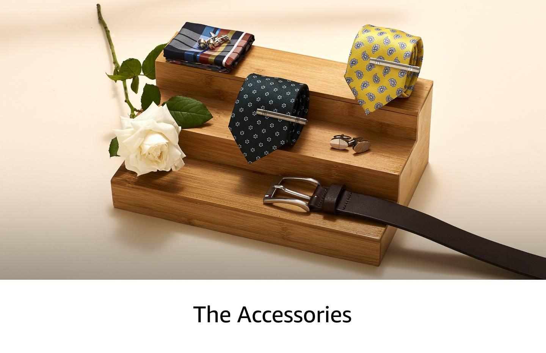 Men's cufflinks, ties, socks and pocket squares