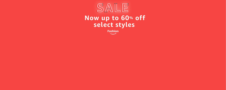 Shop the fashion sale