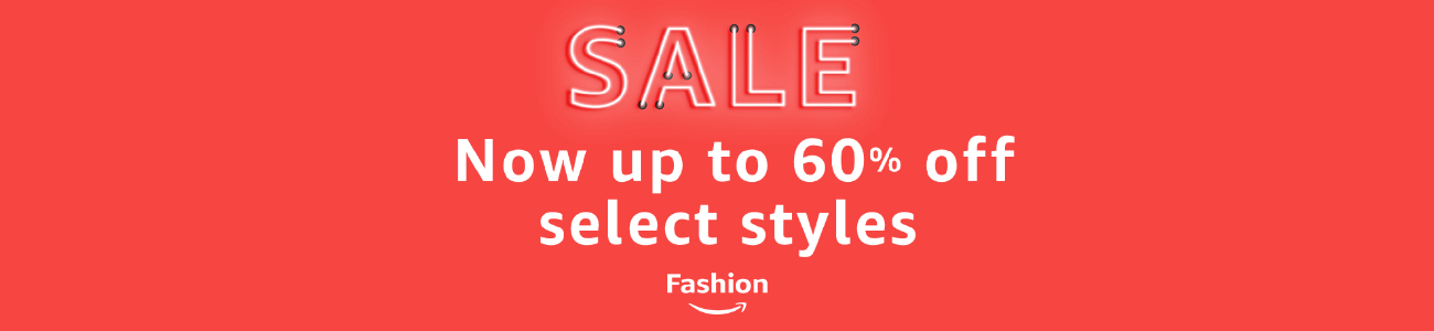 Sale - save up to 50% off select fashion