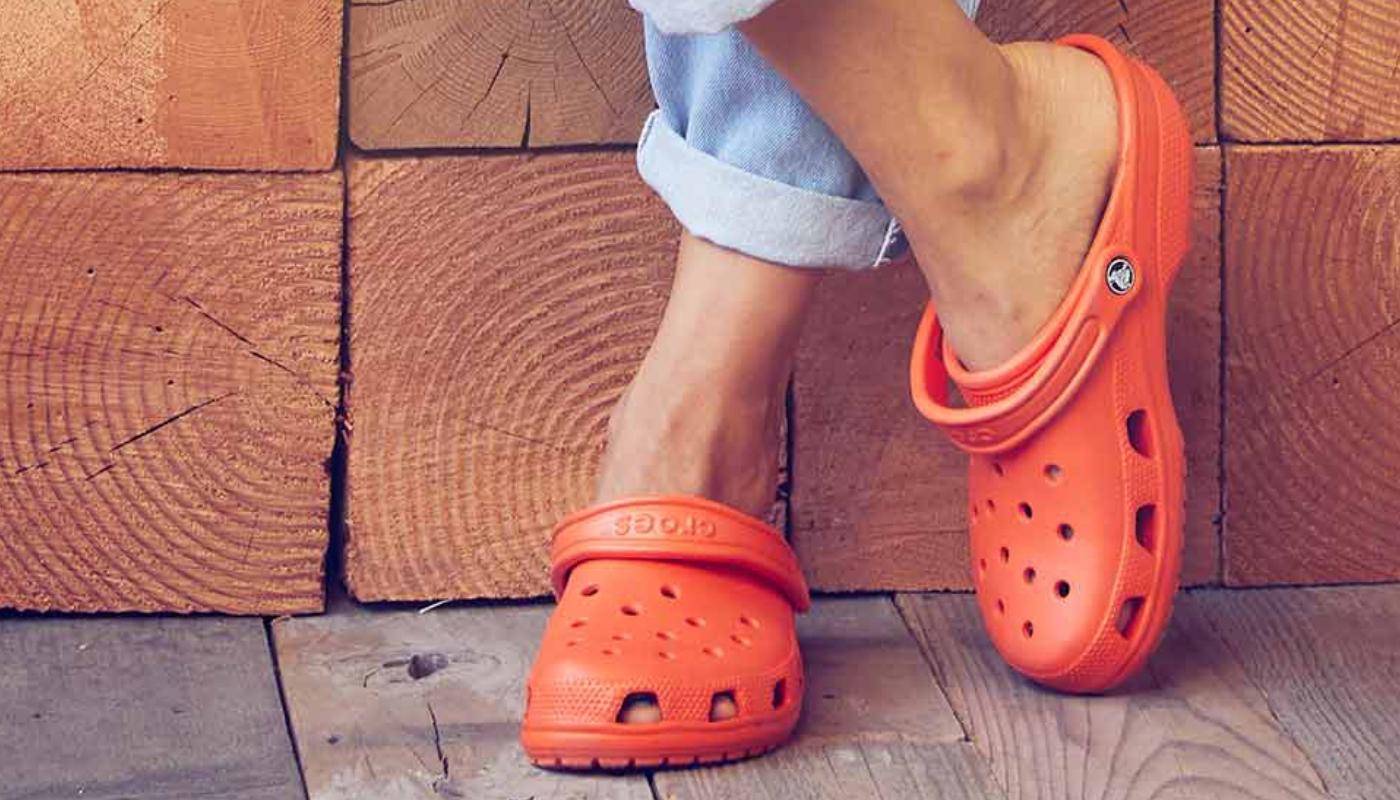 Comfort with Crocs