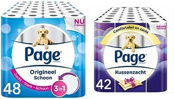 Tot 50% korting op Page toiletpapier