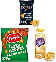 Snack A Jacks, Lay's, Cheetos, Doritos, Duyvis & Quaker