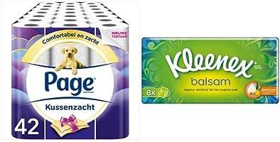 Page Toiletpapier & Kleenex Tissues