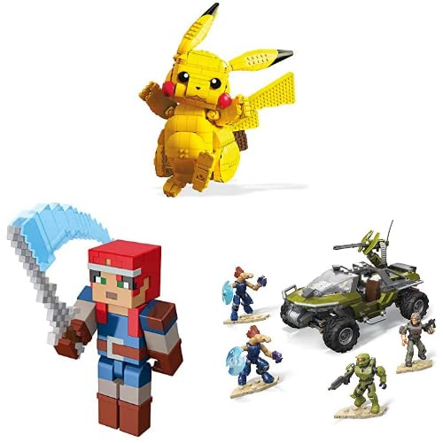 Minecraft, Pokémon, Halo en meer