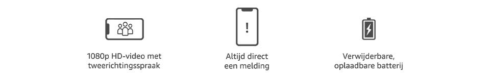 Ring Video Doorbell 3 - Technische gegevens