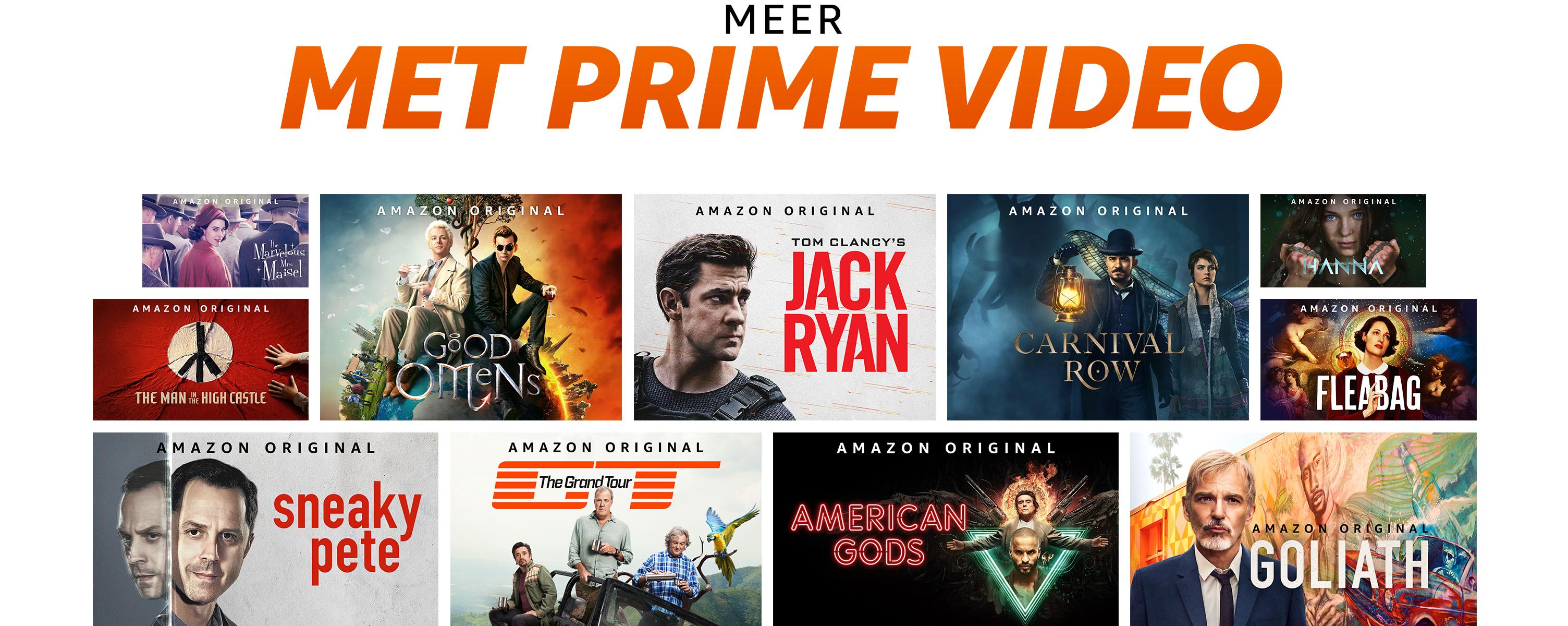 Meer met Prime Video