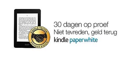 Kindle Paperwhite met actieprijs: 30 dagen op proef