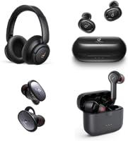 Draadloze oordopjes en koptelefoons verkocht door Anker