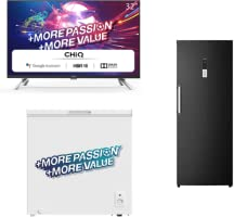 CHiQ koelkasten, vrieskasten en televisies