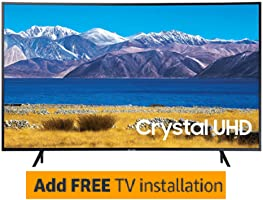 "Samsung 55"" Curved 4K UHD Smart TV + Free Installation"