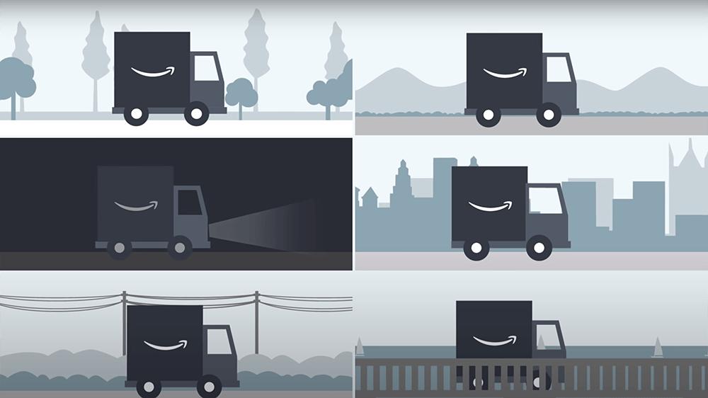 Amazon Lojistik tanıtım videosu