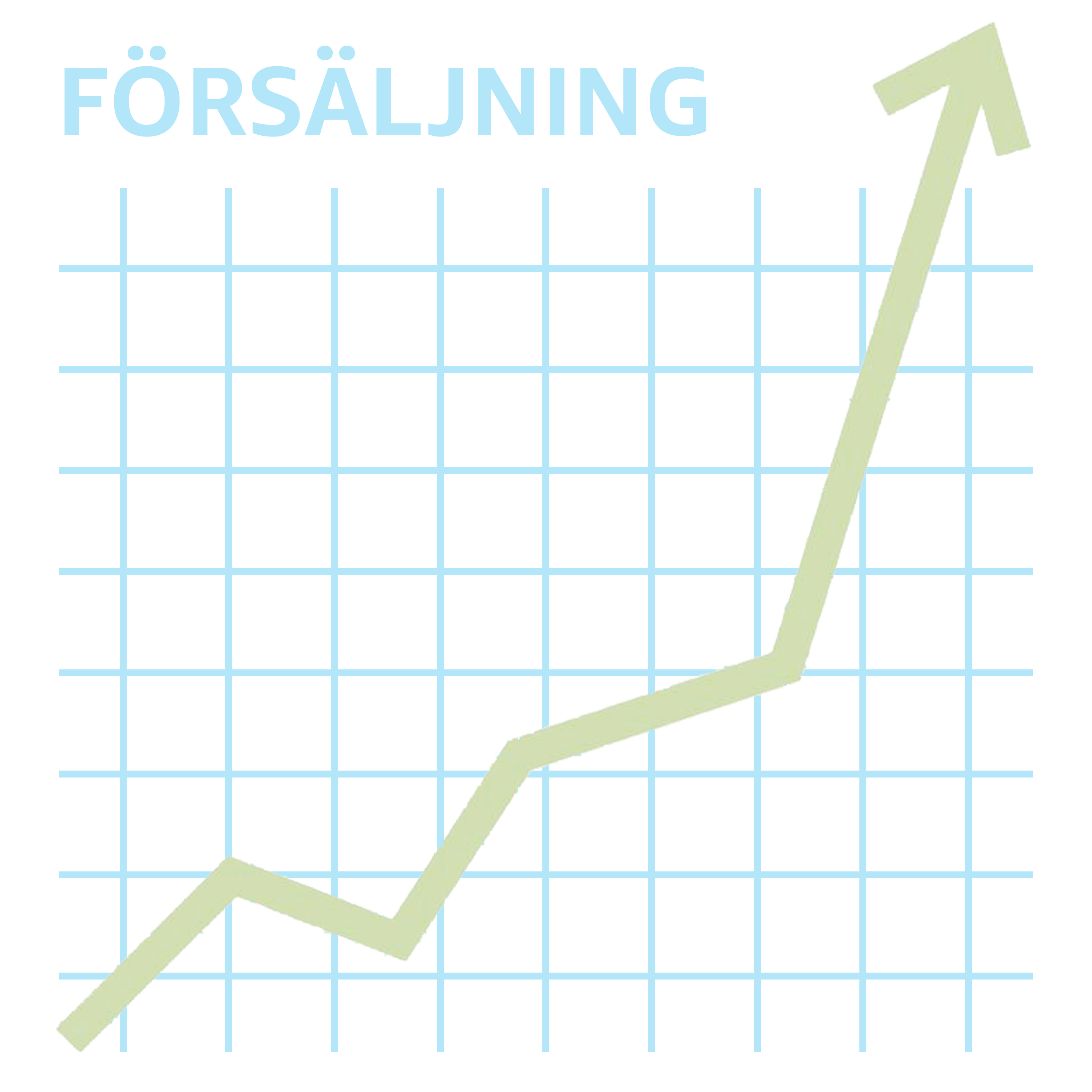 Graph depicting an Amazon seller's growing sales