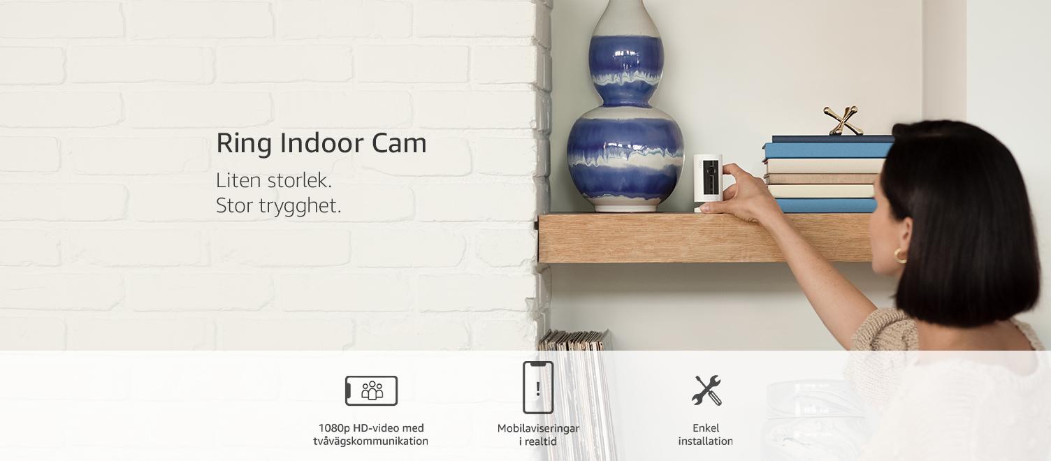 Ring Indoor Cam| Liten storlek. Stor trygghet.