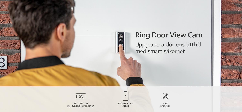 Uppgradera dörrens titthål med smart säkerhet