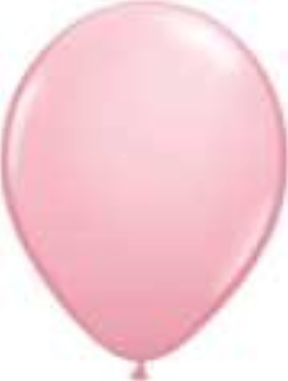 Single Source Party Supplies - Round 16  Standard Pink Latex Balloons Bag of 5