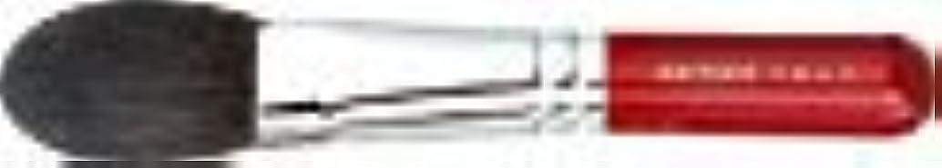 接ぎ木ぼろ物思いにふける【名入れ無料】竹宝堂化粧筆(メイクブラシ)チークブラシ 14-1 赤軸/熊野筆