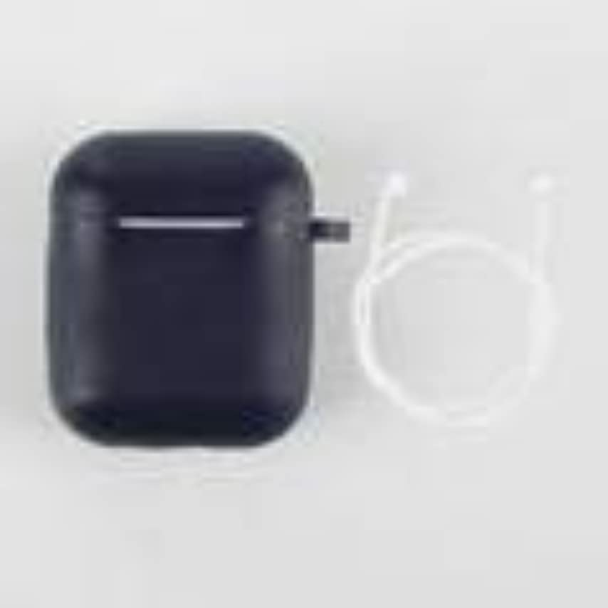 グローバル個人的に振幅ヘッドフォン付きミニソフトシリコンケースAirpods用アンチロストロープパックAirPodsイヤホン保護ケース用耐衝撃カバー