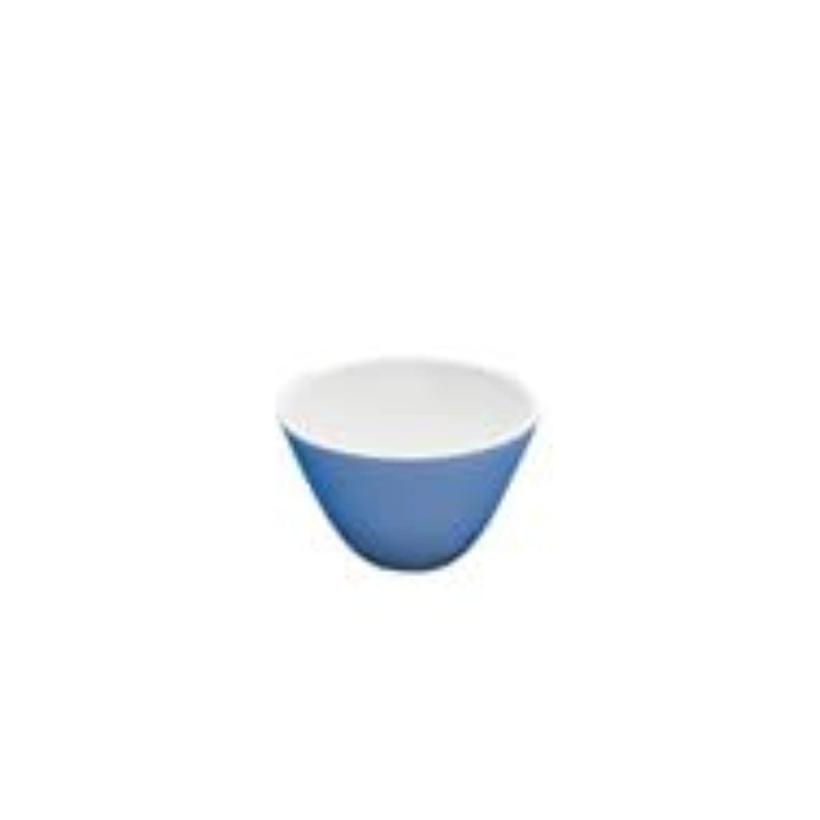 CoorsTek 60240 Porcelain Ceramic Buchner Funnel with Fixed Perforated Plate, 87mL Capacity, 101mm Height, 50-55mm Filter Paper Diameter (Case of 8)