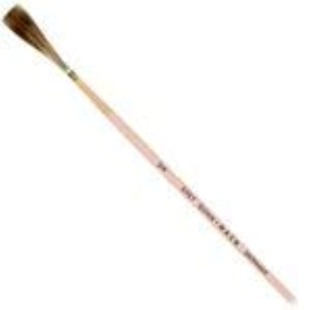 Quinn-Mack Grey Quill Brushes with Pink Lacquered Handle - Size 1