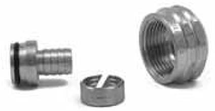 Rehau 261007-101 1/2 Inch Raupex X R-20 Brass Manifold Outlet