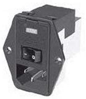 1 piece AC Power Entry Modules Fusedrawer KM KEA KF 5x20 1-pole spare st