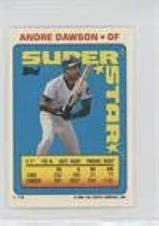 Andre Dawson; Randy Ready; Randy Johnson (Baseball Card) 1990 Topps Super Star Sticker Back Cards - [Base] #14.1