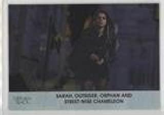 Sarah, Outsider, Orphan and Street-Wise Chameleon (Trading Card) 2016 Cryptozoic Orphan Black Season 1 - [Base] - Silver Foil Board #02