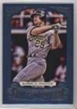 Mark McGwire #87/499 (Baseball Card) 2014 Topps Gypsy Queen - [Base] - Blue Framed #191