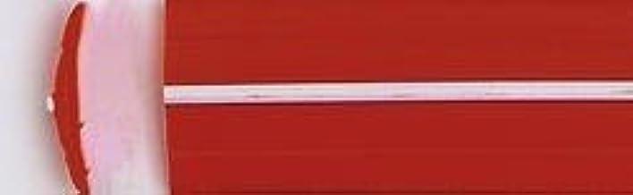 Leistenfüller Uni Rot Weiß 12mm Breit Auto
