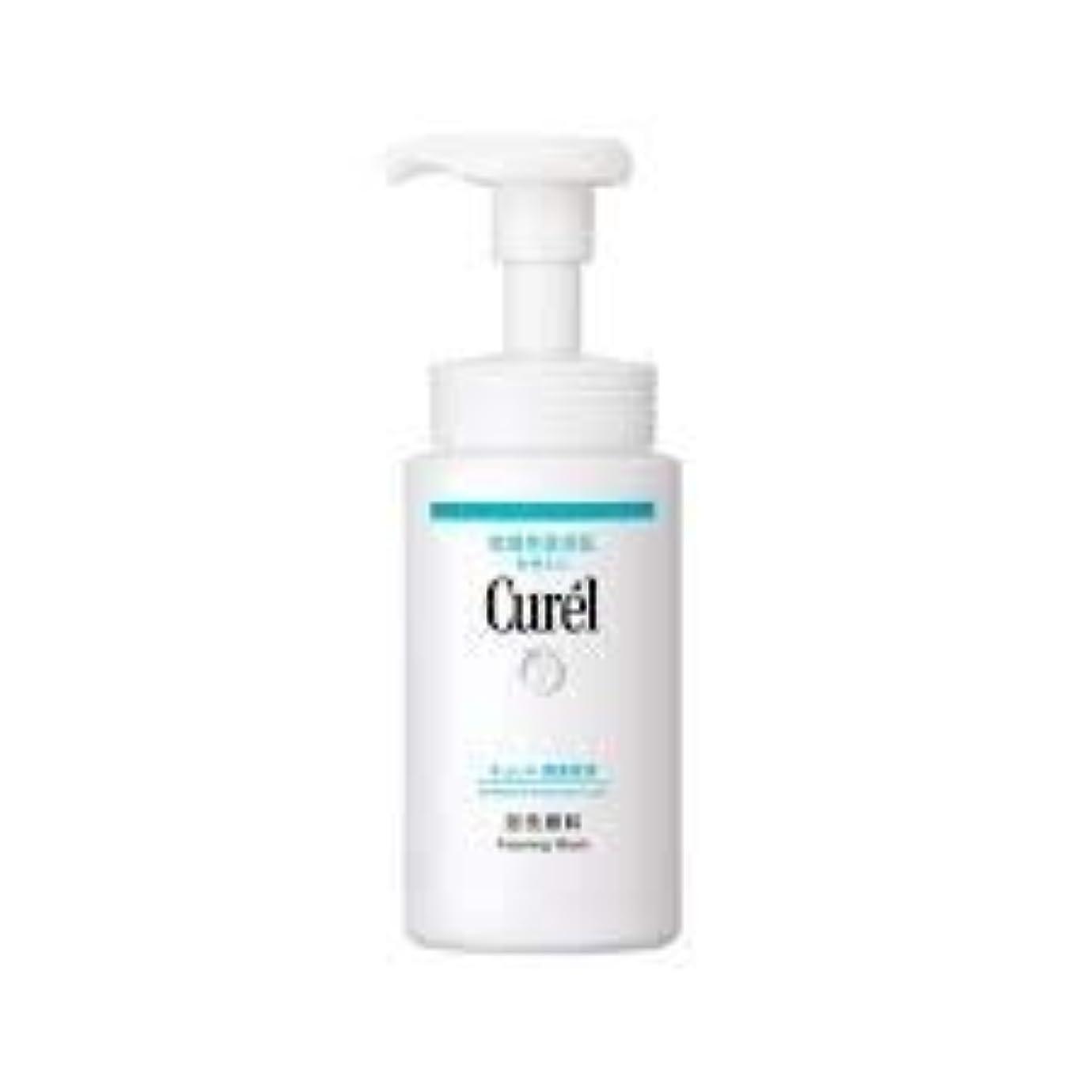 和削除する援助するCurél キュレル集中治療保湿泡風呂ゲル150ミリリットル - セラミドの保護や食材を清掃含まれ、皮膚に圧力を最小限にします